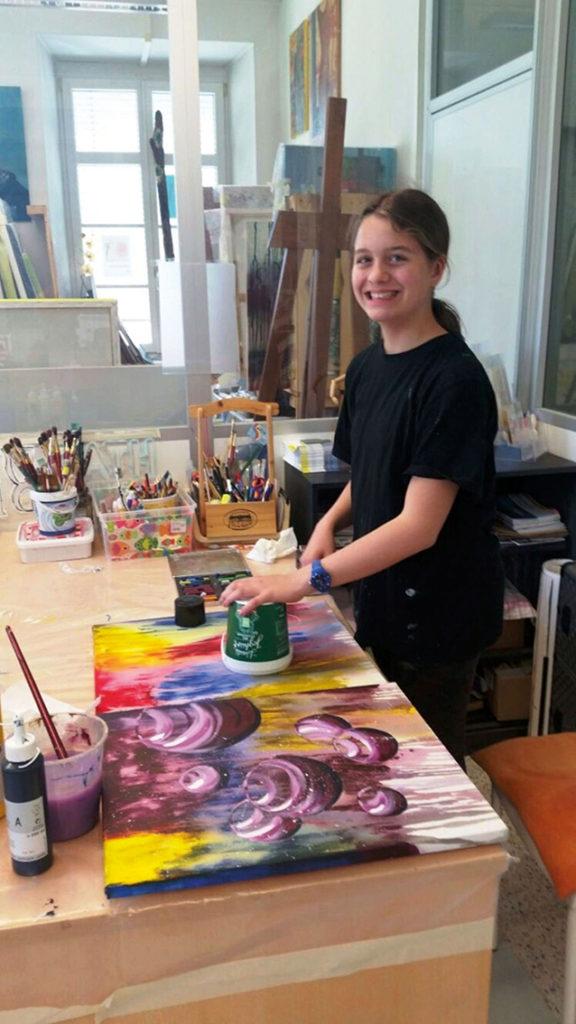 Mutter-Kind-Tag, Workshop von 9 bis 99   Farbenlaube